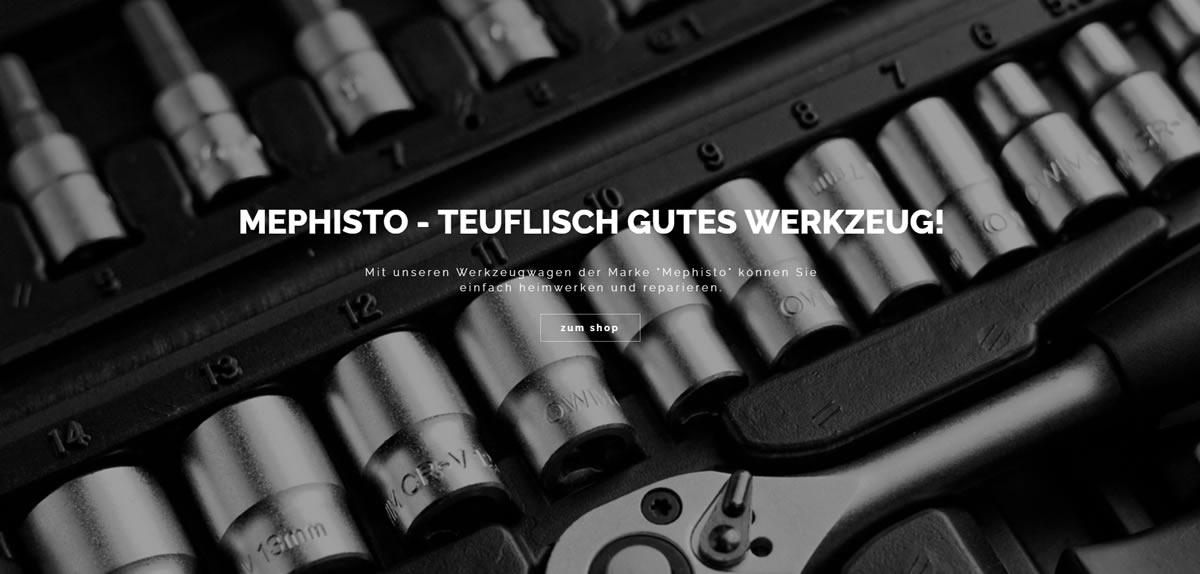 Werkzeugwagen Deutschland | 🥇 Mephisto ➤ Werkstattwagen & ✓ Werkzeugsortiment